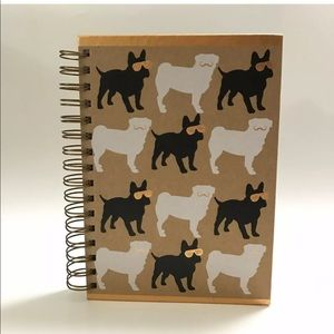 Blank Journal Pug French Bulldog 160 Pages